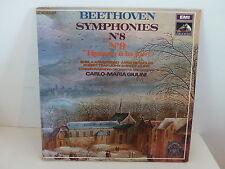 BEETHOVEN Symphonies N°9 Hymne a la joie CARLO - MARIA GIULINI 2C181 02366/7