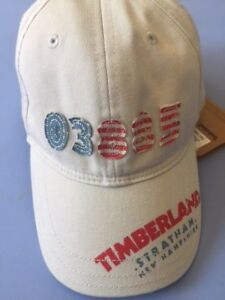 Designer TIMBERLAND Baby Boys Off White Sun Cap WAS £28 NOW £12 SALE SALE !!