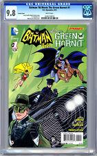 BATMAN '66 MEETS GREEN HORNET #1 CGC 9.8 MIKE & LAURA ALLRED VARIANT COVER 2014