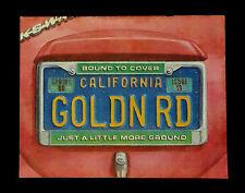 Grateful Dead The Golden Road Magazine 1986 Spring Volkswagen VW License Plate