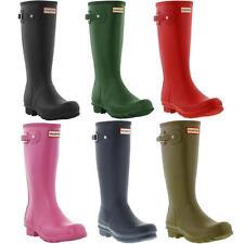Hunter Original Kids Wellington Boots Rubber Rain Wellies Size UK 13-5