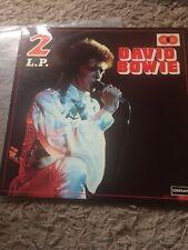 David Bowie 2-LP (Rare Double Album) Images -  DA 145 Y  - SABAM