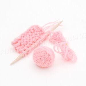 1:12 Miniatur Stricken Garn und Sweatshirt Set Für Puppenhaus