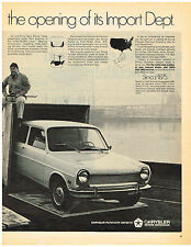 Vintage 1970 Magazine Ad Simca Import By Chrysler & Scripto Pens Sweepstakes