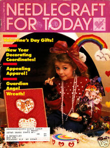 Craft Books: #1128 Needlecraft for Today Magazine 1987