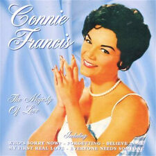CONNIE FRANCIS ~ MAJESTY OF LOVE NEW CD Who's Sorry Now and 18 More