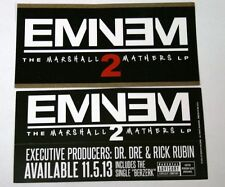 Eminem The Marshal Mathers Lp 2 New Album* 5 *Promo Stickers 2.5x5 New