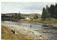 Scotland Postcard - Balmoral Castle and The River Dee - Aberdeenshire  AB777