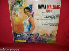 EMMA MALERAS y su BALLET LP 1962 MINT- SPAIN Spanish Castanets Fandango Bolero