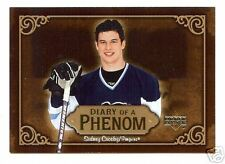 "(92) 05-06 UPPERDECK ""DIARY OF A PHENOM"" SIDNEY CROSBY"