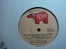 "John Travolta & Olivia Newton-John ""You're The One That I Want"" 1978 POLYDOR 7"""