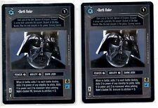 Star Wars CCG Limited Edition Premiere Rare1 - Darkside - 2/2