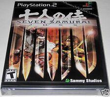 Seven Samurai 20XX (PlayStation 2) ..Brand NEW!!