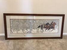 Bev Doolittle SACRED GROUND Framed, Signed, Numbered, COA, 25382/69996