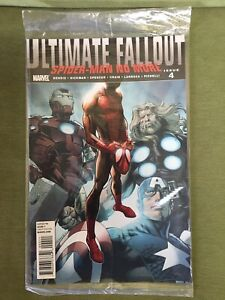 ULTIMATE FALLOUT #4 1st PRINT 1st Appearance MILES MORALES SEALED DIRECT EDITION