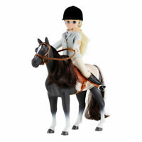 Lottie Doll Set Pony Club, Set with Horse Dolls  Best fun gift