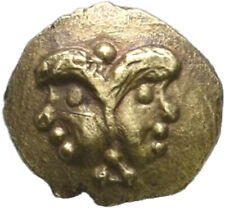 LANZ Celts Vindelici AV 1/24 Stater 3nd Cent Latene Treasure Janus Gold µTEZ10
