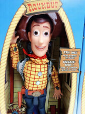 """Disney Toy Story 3 Plush Toy Woody Talking Action figure Doll Figure 15"""""""