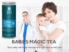 Baby colic & gas Babies' Magic Tea your baby will sleep through the night M-US