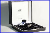 MONTBLANC 149 Kolben Füller GIFT BOX m Tinte / M - medium 18K 750 GOLD Feder