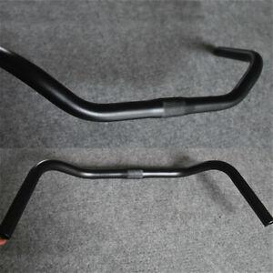 25.4x490mm Bicycle Handlebar Aluminium Alloy Road Bike Bar Cycling Black