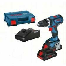 Bosch GSB18V-60C 18v Brushless Combi Drill 2 x 4.0ah Batteries Charger + L-boxx
