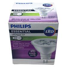Philips 3W MR16 Essential LED 2700K Lamp Spotlight 12V Bulb GU5.3 = 35W Halogen