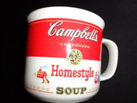 Vintage 1991 Campbell's Soup Homestyle  Cup/Mug 14oz by Westwood