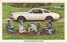1976 Buick Century Coupe Automobile Advertising Postcard
