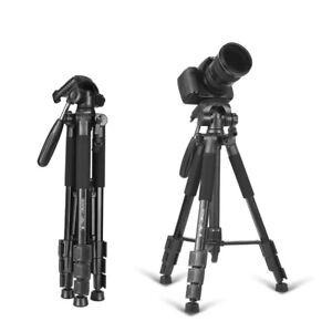 Portable Professional Tripod & Ball Head Travel for Canon DSLR Camera Brand New