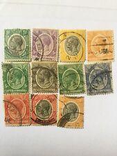 Kenya Uganda Tanganyika KUT Old Stamps Lot 13
