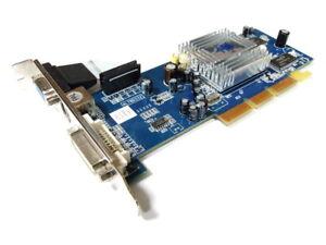 His J78 01 B ATI Radeon 9200 Se W/128MB AGP Graphic Card 4L78D332 B Stock/B