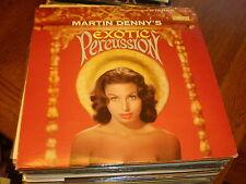 Martin Denny LP Exotic Percussion