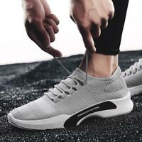 Mens Sports Casual Athletic Running Shoes Mesh Breathable Sneakers Free Shipping