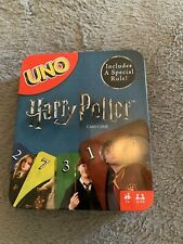NEW Harry Potter Uno Card Game in Collectible Tin