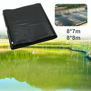 Fish Pool Pond Liner Membrane Reinforced Gardens Pools Landscaping HDPE Black