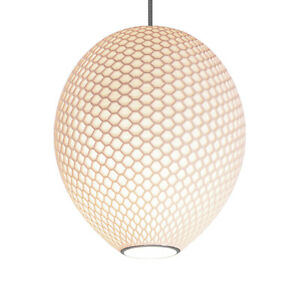 White lampshade Ceiling Light (Hive H20)