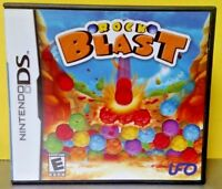 Rock Blast  - Nintendo DS DS Lite 3DS 2DS Game Complete + Tested