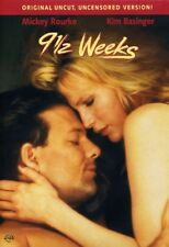 9 1/2 Weeks [New DVD] Director's Cut/Ed, Full Frame, Amaray Case, Dolby, Dubbe