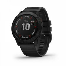 Garmin fenix 6X Pro Black with Black Band Fitness GPS Watch 010-02157-00