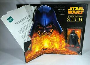 2005 Hasbro Star Wars Revenge of the Sith Toy Fair Excl. Darth Vader Promo Kit