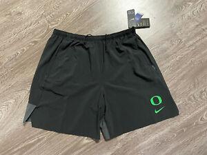 Oregon DUCKS Football TEAM ISSUED Nike Pro Dri-Fit On Field SHORTS Mens 4XL NEW
