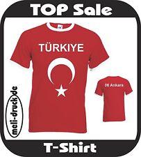Türkei T-Shirt Türkiye mit Wunschstädtenamen OVP NEU