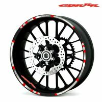 For Honda CBR 17 inch Motorcycle Wheel Sticker Decal Reflective Rim Bike-SA