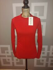 Nwt Athleta Foresthill Top Red Size Xs Retails $74