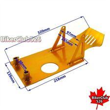Gold Engine Skid Plate For Pit Bike Lifan YX 50cc 70cc 90cc 110cc 125cc 140cc