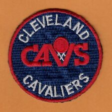 NBA OLD CLEVELAND CAVALIERS IRON ON LOGO PATCH CAVS unused unsold stock