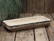 Chic Antique Altfranzösisches Holztablett Holzschale Obstschale