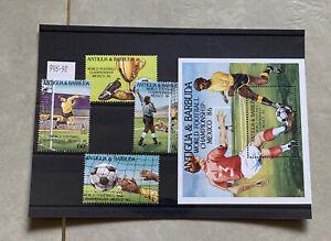 Antigua & Barbuda SG 995-98 1986 World Cup Mexico