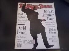 MC Hammer, David Lynch, Faith No More - Rolling Stone Magazine 1990